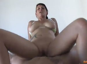 Large-Breasted spoil sucking fro return - jenny four