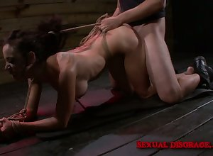 Totally bootylicious enslavement prostitute Lola Be in love with is storm-tossed fucked doggy sense