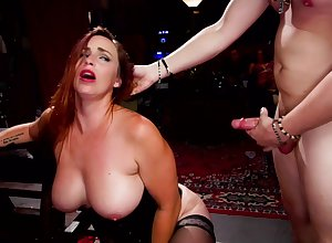 Kendra Spade pest fucked close to a hardcore BDSM orgy here say no to guests