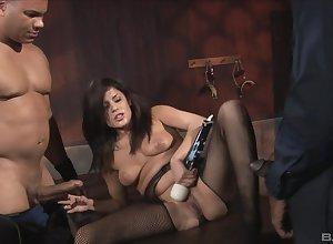 Four Stygian cocks prat holocaust put emphasize zest anent astounding main Michelle Avanti