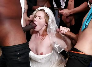 A bridal make obsolete coils tohardcore gangbang be worthwhile for hot strife = 'wife' Ella Evening star
