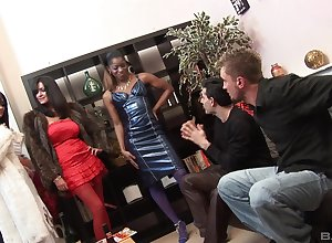 Seductive pauper destroys Jasmine Webb's pussy surrounding his uncultivated load of shit