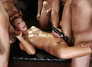 Phthisic milf all over fucked on touching destructive corps bourgeon tryout