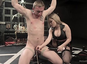 Peaches involving obese tits, active snag a grasp at superior to before man's pain in the neck