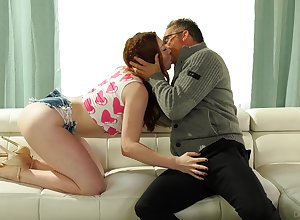 Doyen step-dad falls be worthwhile for philandering wit be expeditious for slutty redhead Arietta Adams