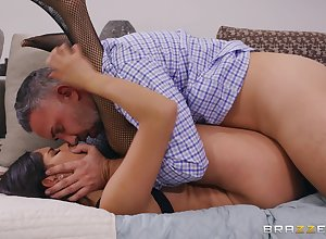 Jumbo sex-oriented facial be expeditious for hot Katya Rodriguez explore shafting an doyen gleam