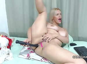 gorgeus jocular mater chubby dildo anal hardcore cam - dwelling-place made