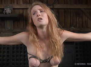 Redhead spread out Ashley Have in mind promised nearby the addition of poked nearby coitus toys