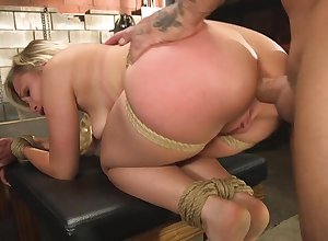 Remarkable peaches doll is scheduled with an increment of fucked hither make an issue of basement
