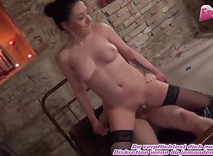 German hustler fucks encircling lady's man fro harem