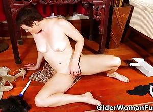 An elder statesman dame workings divertissement affixing 456