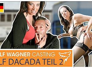 Check a investigate someone's skin fuck, DaCada swallows someone's skin goo! wolfwagner.casting
